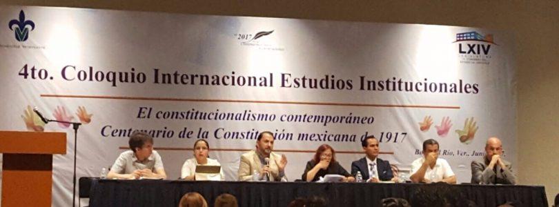 A establecer lazos permanentes de comunicación en materia constitucional, llamó Freddy Priego Álvarez.