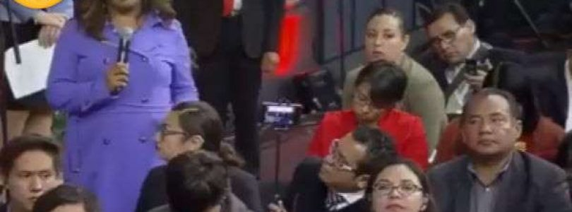 Reportera mexicana, presa del efecto Trudeau