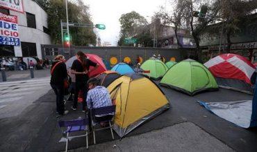 Protestan organizaciones en CDMX