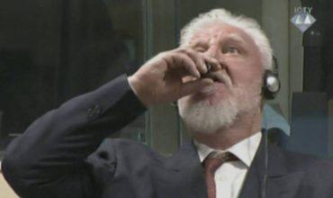 Un criminal de guerra bosniocroata muere tras ingerir veneno en un tribunal de La Haya
