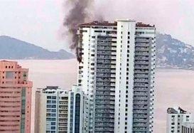 Muere uno en incendio en Acapulco