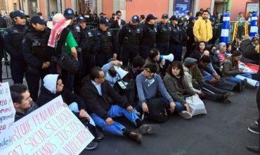 Protestan, de nuevo, por Ley de Seguridad